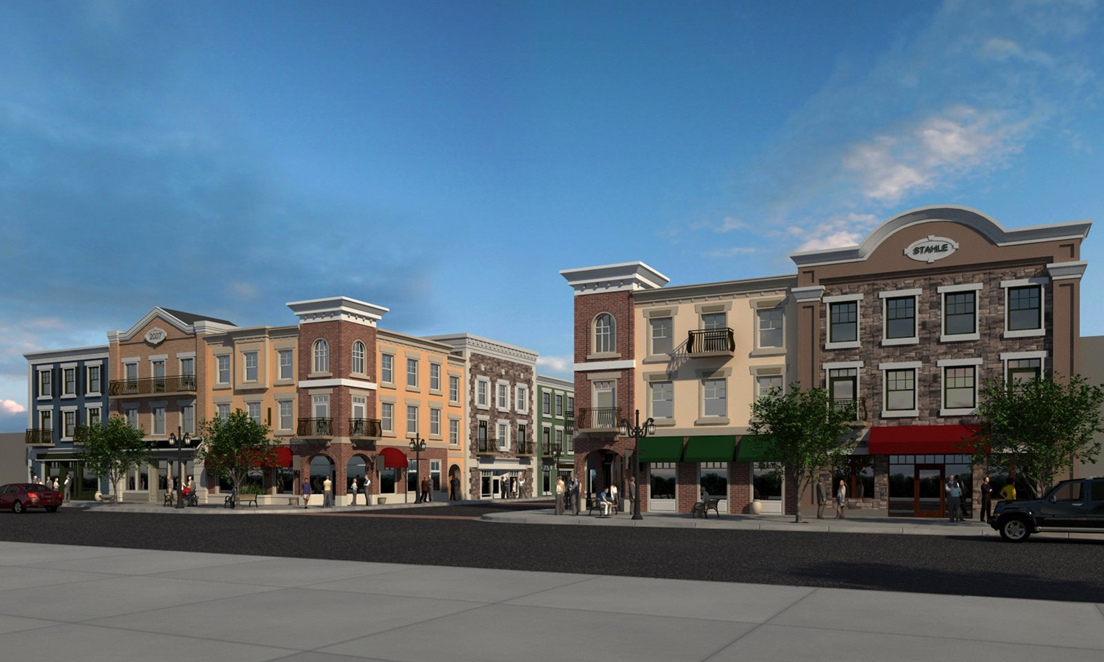 Proposed Main Street, Bountiful, Utah